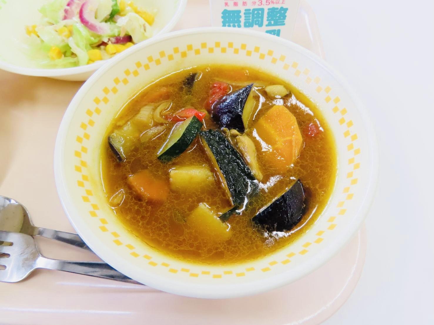 七飯町学校給食
